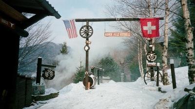 Una bella immagine invernale con bufera a 12c dell for Rimodernato ranch di entrata del ranch